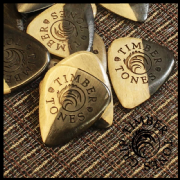 Timber Tones Grip - Malay Ebony - 4 Picks | Timber Tones